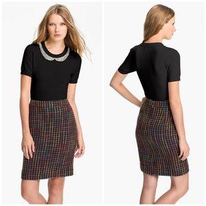 Kate Spade Black Tippy Embellished Sweater Size XL